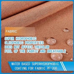 superhydrophobic coating for fabric